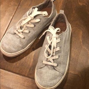 Gray TOMS sneakers